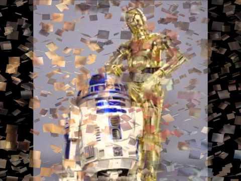 C3PO & R2D2 ☆ sleigh ride (star wars christmas edition)【HD】