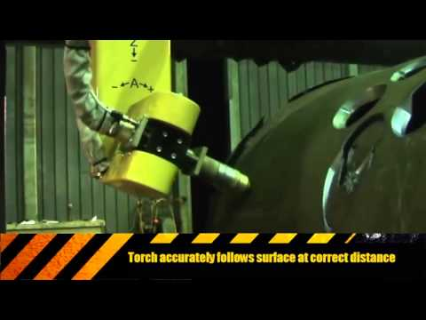 Portable 5 Axis Pressure Vessel Plasma Cutter