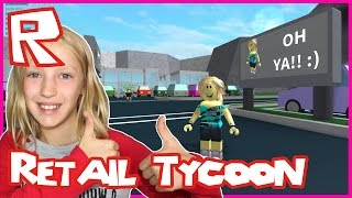 Roblox Retail Tycoon / Building Epic Store