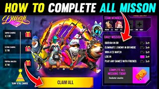 HOW TO COMPLETE CHĄRGE THE PORTAL EVENT MISSION    HOW TO GET GUN SKIN    HOW TO GET PET IN FREE