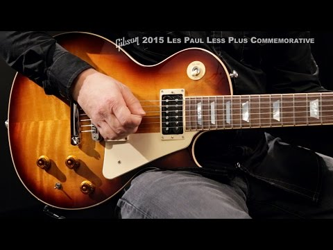 Gibson 2015 Les Paul Less Plus Commemorative Electric Guitar