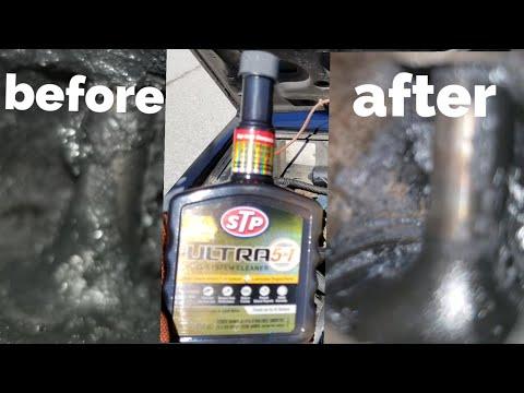 Stp ultra fuel system cleaner vs intake valves!!!