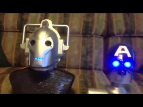 Robot cyber woman