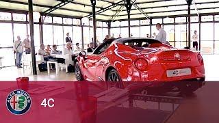 Alfa Romeo 4C Spider Test Drive in Balocco