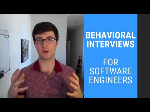 Behavioral Interviews for Software Engineers