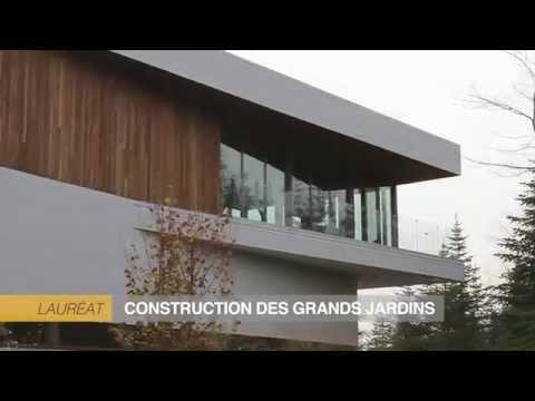 Prix NOBILIS 2014 - Construction des Grands Jardins - HN Unifamiliale Plus de 800 000 $