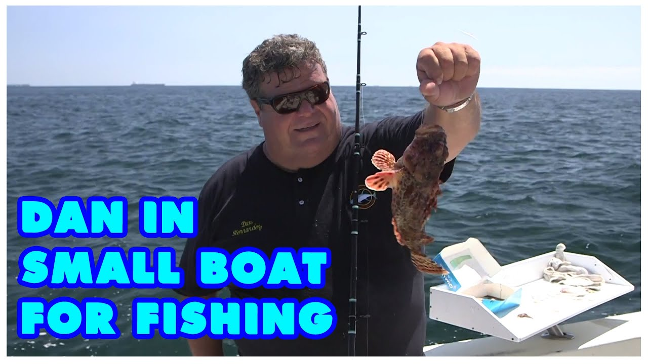 Dan Hernandez In Small Boat For Fishing With Amy Sport