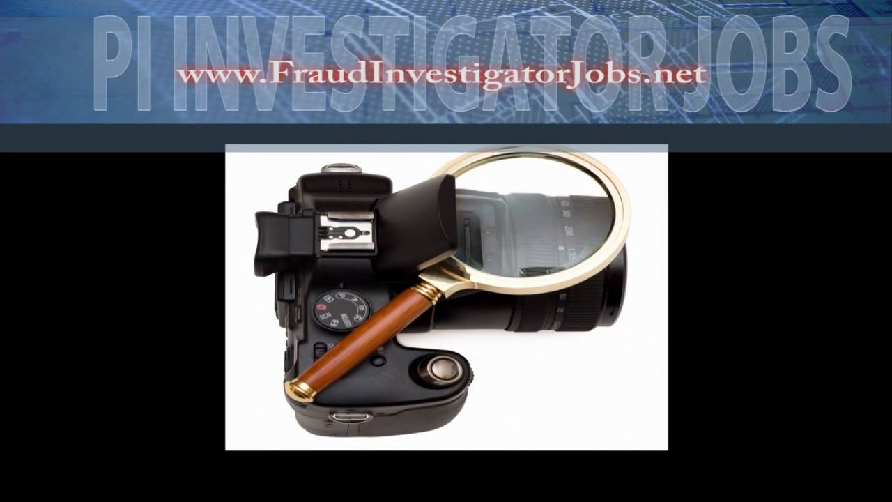 Private Investigator Jobs & Investigation Employment