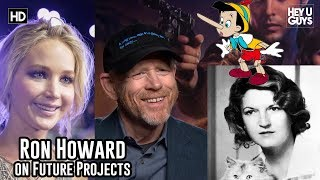 Jennifer Lawrence's Zelda biopic update from director Ron Howard & live action Pinocchio