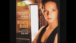 hilary hahn plays spohr violin concerto 8 in a minor op 47 part 1