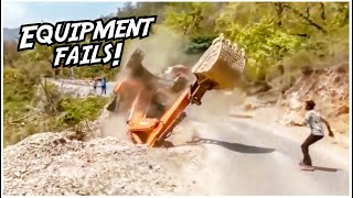Extremely Dangerous Heavy Equipment Fails // Heavy Equipment Operator Lessons