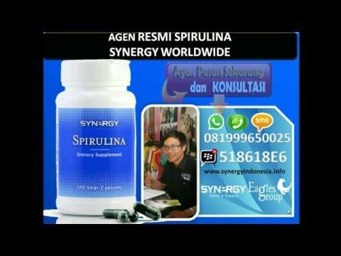 MAMFAAT SPIRULINA  SYNERGY  |  JUAL DETOX  www.detoxyourbody.asia 081999650025