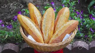 Bánh Mì Việt Nam Bột Chua Ủ Nhanh - Quick No Knead Vietnamese Sourdough Breads