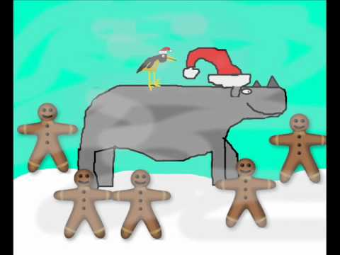 Rupert, the small-horned rhino (christmas song)
