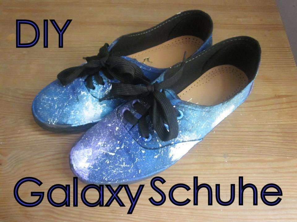 Diy Galaxy Schuhe Youtube