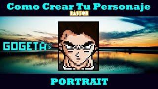 Como crear tu personaje de BASTON - Portrait