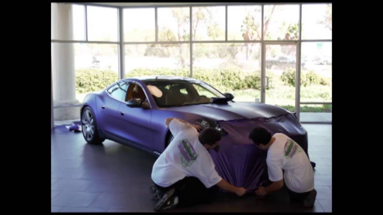 Avery Dennison Supreme Wrapping Film Install Time Lapse Video