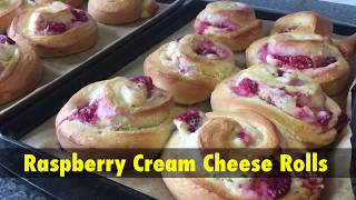 How To Cook: Raspberry Cream Cheese Rolls