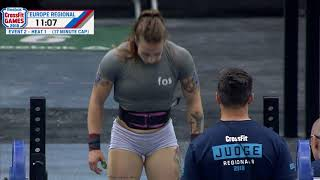 2018 Europe Regional - Women's Event 2
