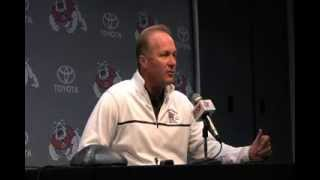 Bulldog football press conference: Coach DeRuyter on pre-game activities