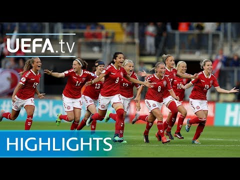 Women's EURO Highlights: Denmark Penalty Win Against Austria