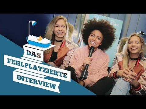 Lisa & Lena chilln mit Aminata im Fahrstuhl I Das fehlplatzierte Interview