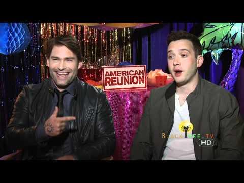 American Reunion: Stifler Seann Williams Scott & Eddie Kaye Thomas Funny Interview!