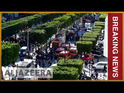 🇹🇳 Nine people wounded in Tunis suicide bomb attack | Al Jazeera English