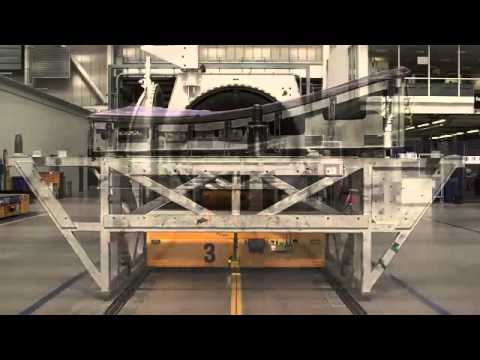 Bombardier CSeries Wing Manufacturing process