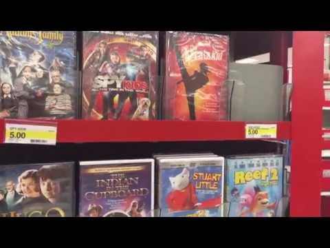 Target has tons of classic movies on sale for $5.00!
