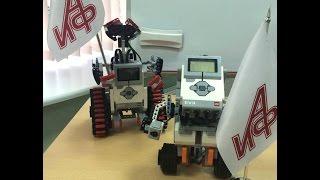 Открытый урок Школы робототехники в пресс-центре