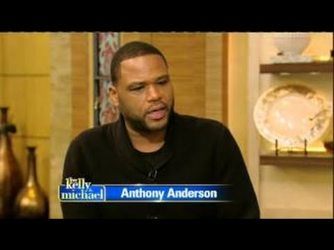 Anthony Anderson interview Live! With Kelly and Michael 02.17.2016