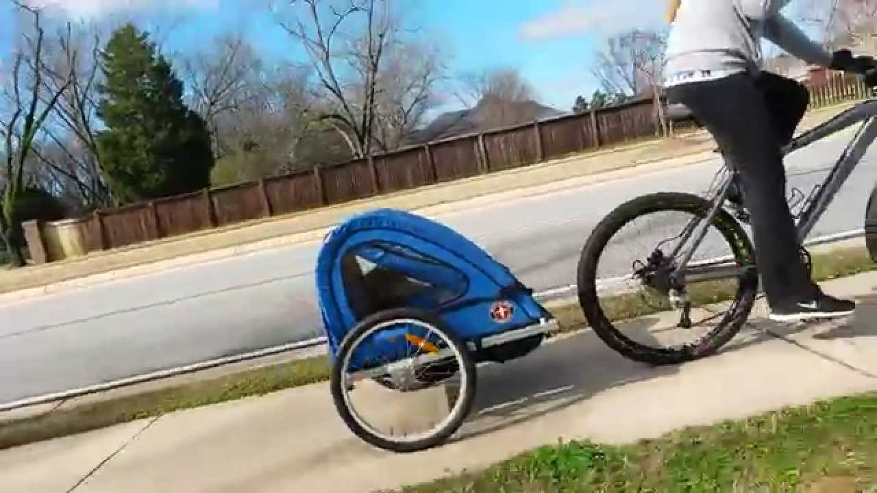 Schwinn Bicycle Trailer And Jog Stroller Youtube