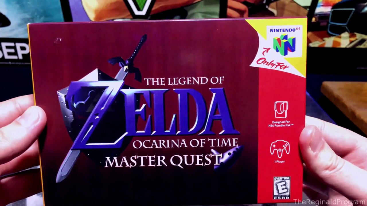 Unboxing: The Legend of Zelda: Ocarina of Time: Master Quest: VGDB  Reproduction (Nintendo 64, 2017)