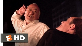 The Next Karate Kid (1994) - Miyagi Finishes Dugan Scene (10/10) | Movieclips