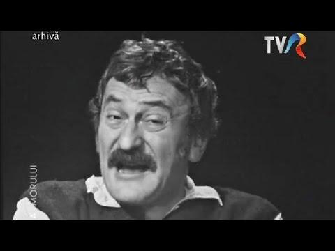 """Amza Pellea - Nea Mărin, Sucă şi sarmalele """"flombate"""" (Revelion 1979)"""