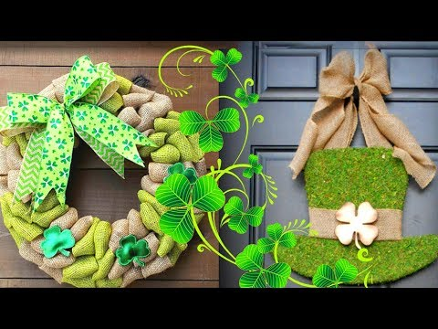 40+-ideas-for-saint-patrick's-day-door-decor.-wreaths-and-more!