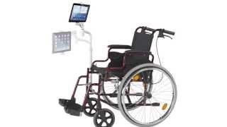 Adjustable Wheelchair Mount For Ipad & Tablets