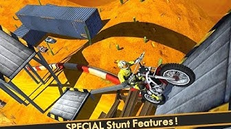 """AEN Mad Hill Bike Trail World """"Autumn Map"""" Videos Games for Children /Android HD """"Motor Games"""""""
