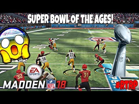 ROAD TO RED PAINT! THE SUPER BOWL IS HERE! Madden 18 Ultimate Team