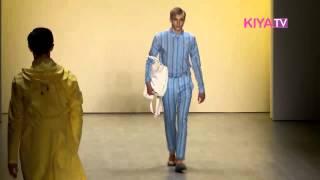 Julian Zigerli Frühjahr/Sommer 2015 auf der Mercedes Benz Fashion Week