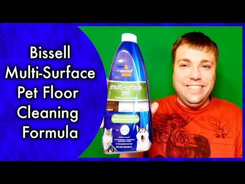 Bissell Multi-Surface Pet Floor Cleaning Formula - MumblesVideos Product Review