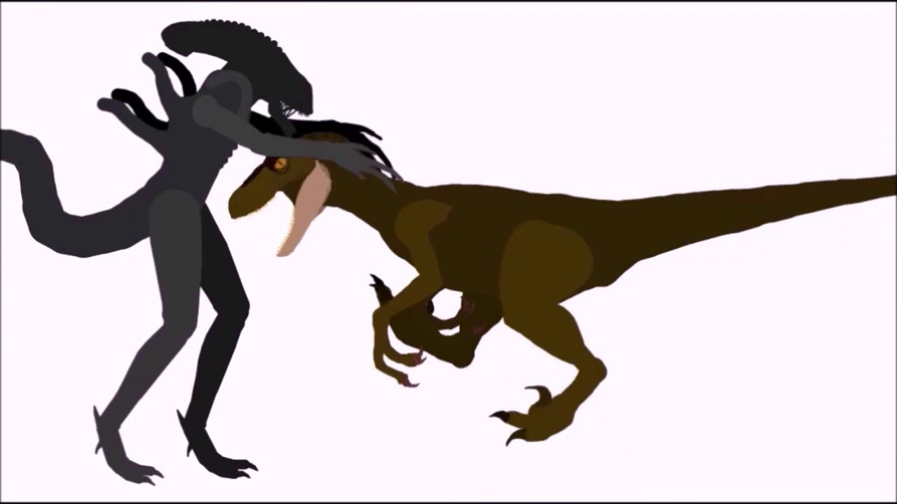 EMB raptor vs xenomorph - YouTube