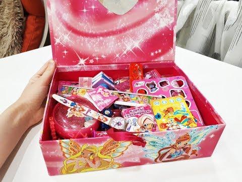 Моя Шкатулка С Вещами Винкс Вещи Винкс Winx Club Обзоры Для Детей Мультики