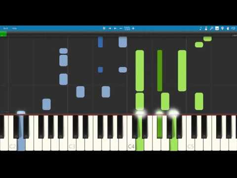 Adventure time island song (come along with me) piano tutorial