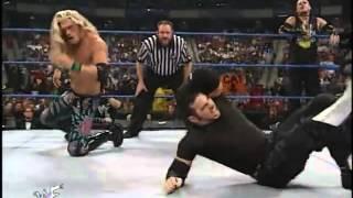 Jeff Hardy and Matt Hardy and Lita vs Edge and Christian and Jacqueline