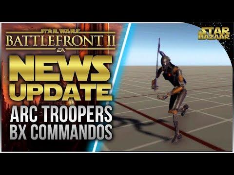 NEW REINFORCEMENTS! ARC Troopers & Commando Droids   Battlefront 2 News Update thumbnail