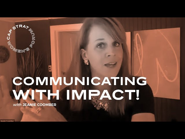Communicating With Impact!