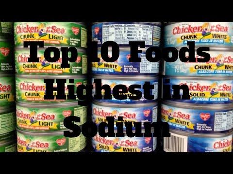 Top 10 Foods Highest in Sodium