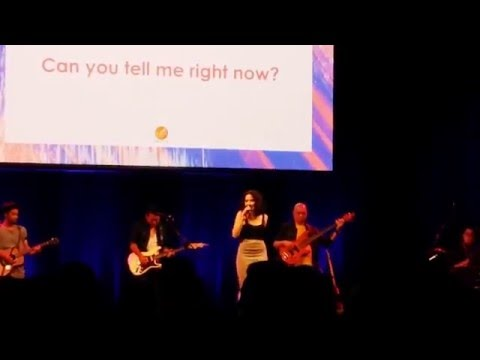 Gisel Idol- Locked Away - live in Concert Perth